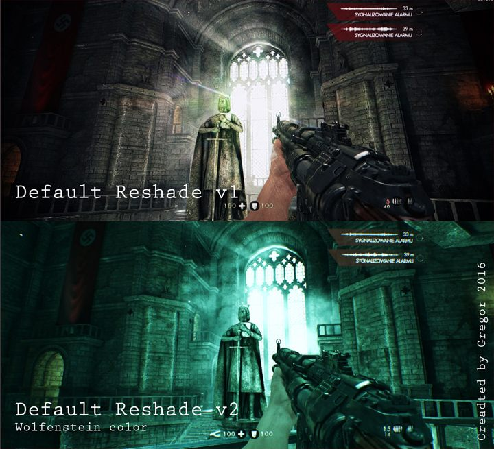 Wolfenstein: The New Order mod ReShade Mod