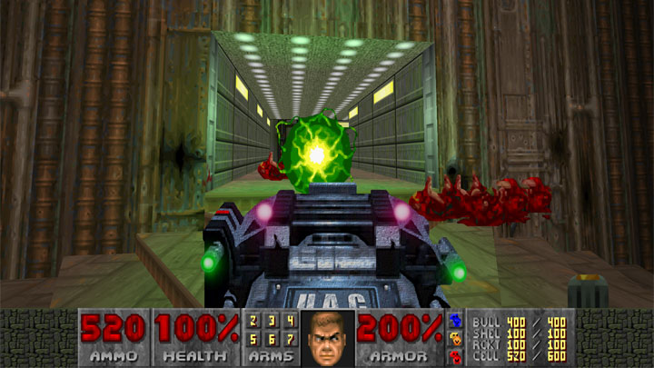 Doom II: Hell on Earth GAME MOD Rabid BFG v 2 0 - download