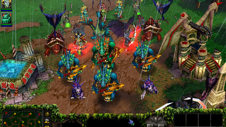 Warcraft Iii The Frozen Throne Game Mod Warcraft 3 Extended