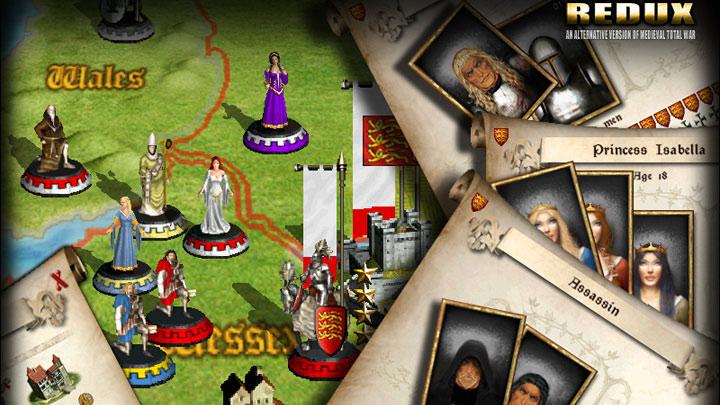 Medieval II: Total War GAME MOD Medieval: Total War Redux v