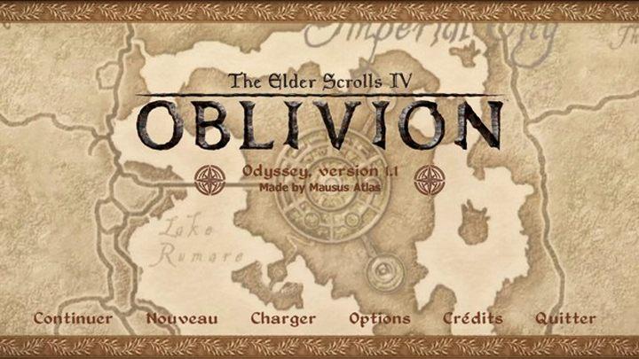 The Elder Scrolls IV: Oblivion GAME MOD Odyssey v 1 1