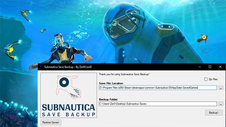 Subnautica Save Location 2018