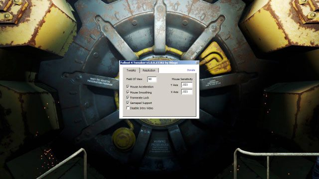 Fallout 4 GAME MOD Fallout 4 Config Tool v 1 0 - download