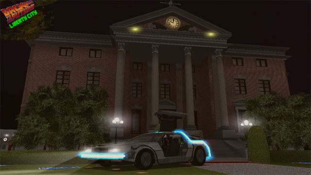 Grand theft auto iii game mod back to the future: liberty city v.