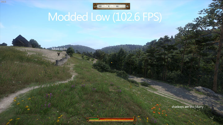 Kingdom Come: Deliverance mod Optimized Graphic Presets v.2.2.1