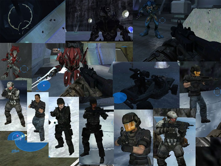 Halo: Combat Evolved mod B40 Style Earth - (Assault on The Control Room) v.24012020