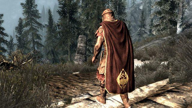 The Elder Scrolls V Skyrim Game Mod Cloaks Of Skyrim V12