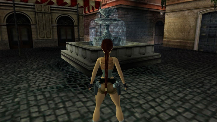 Tomb raider borders of the The Borders