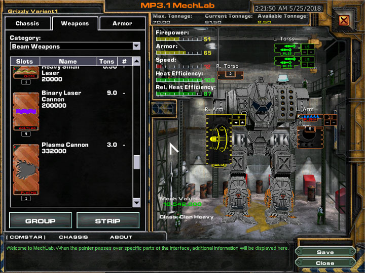 MechWarrior 4: Mercenaries GAME MOD MW4M Weapon Mod v
