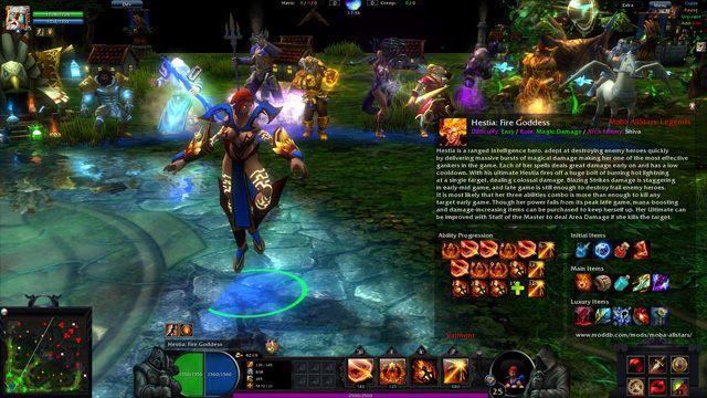 Dota 2 GAME MOD Moba AllStars: Legends  1 0 - download