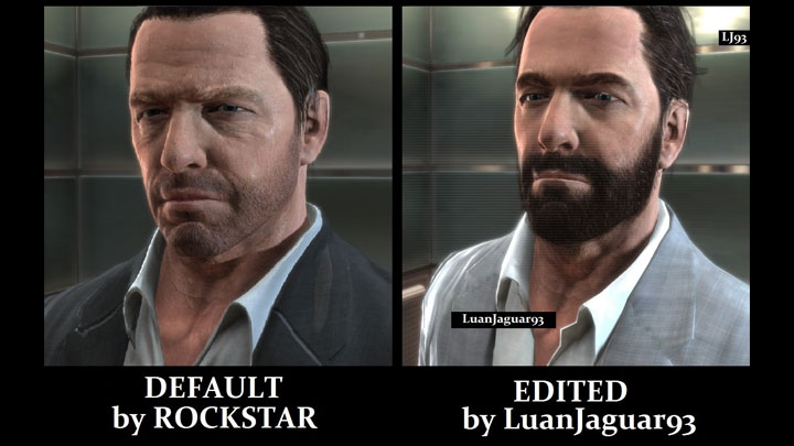 Max Payne 3 Game Mod Improved Face Younger Looking Always