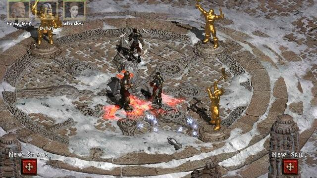 Diablo ii lord of destruction game mod valhalla v - Diablo 2 lord of destruction wallpaper ...