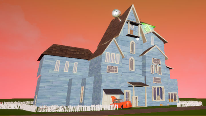 Hello Neighbor GAME MOD Hello, Neighbor! Glowing House v