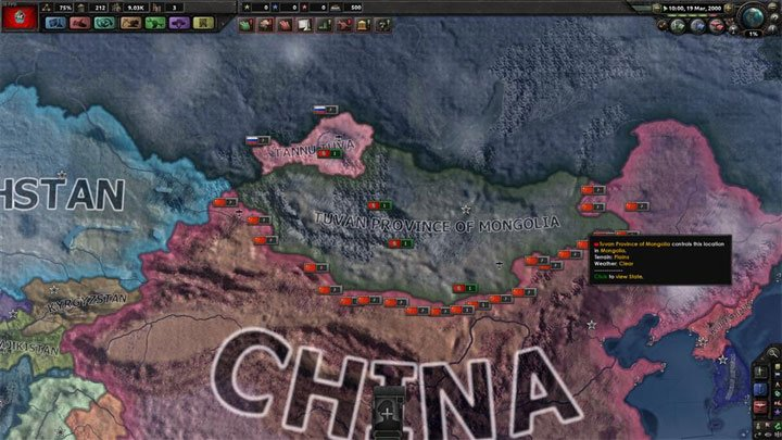 Hearts of Iron IV GAME MOD Millennium Dawn: Tuva v 1 2