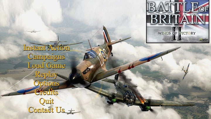 Battle of Britain II: Wings of Victory mod BOB2 Windows 10 Patch v.4.2