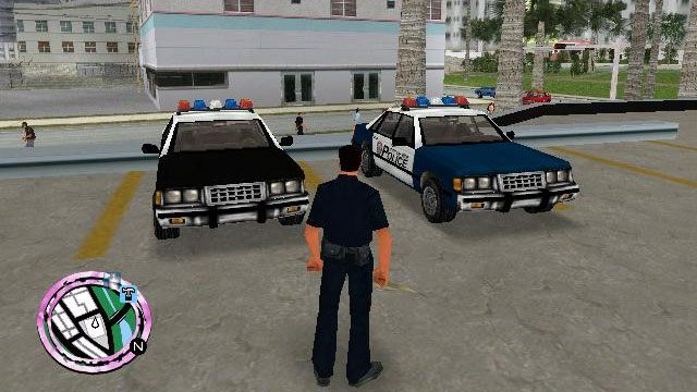 Grand Theft Auto: Vice City GAME MOD GTA: Police Stories v IV