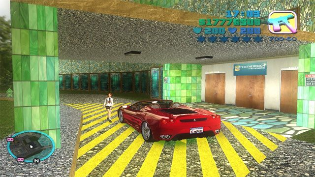 Grand Theft Auto: Vice City GAME MOD GTA Vice City Modern v 1 2