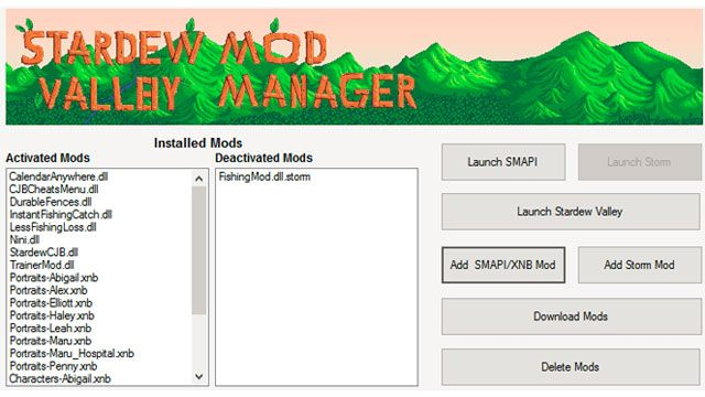 Stardew Valley GAME MOD Stardew Valley Mod Manager v 3 1e - download