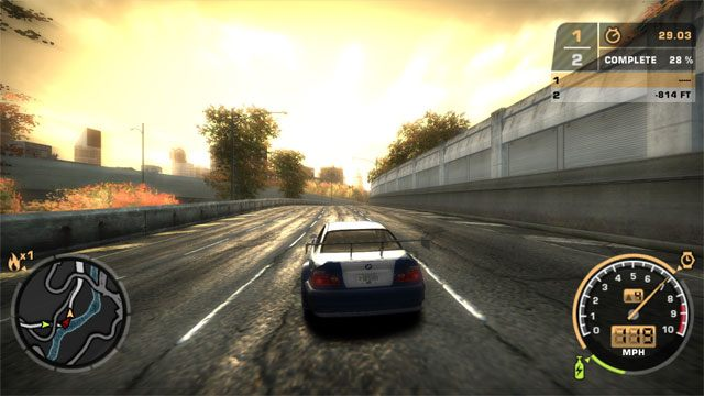 Need for Speed: Most Wanted (2005) mod Widescreen Fix v.1.0