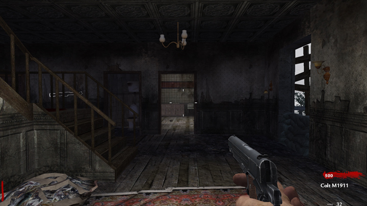 Call of Duty: World at War GAME MOD Nazi Zombie: FRU Mansion ...