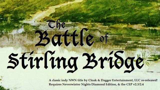 Neverwinter Nights GAME MOD Battle of Stirling Bridge v 0 92