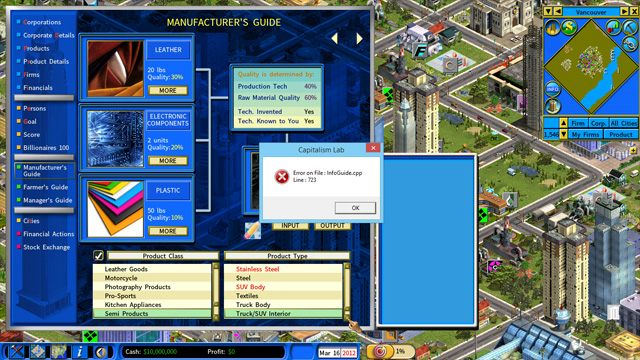 Capitalism ii: capitalism lab game mod capitalism world v. 1. 2.