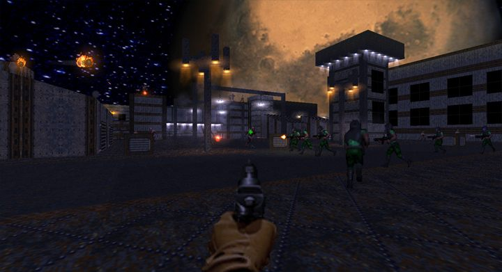 Doom II: Hell on Earth GAME MOD Brutal Doom 64 v 2 0