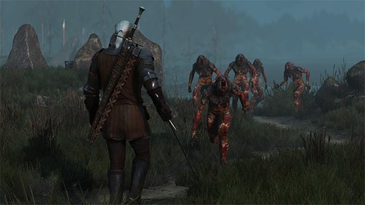 The Witcher 3: Wild Hunt GAME MOD VGX Sword Walking v 1 0