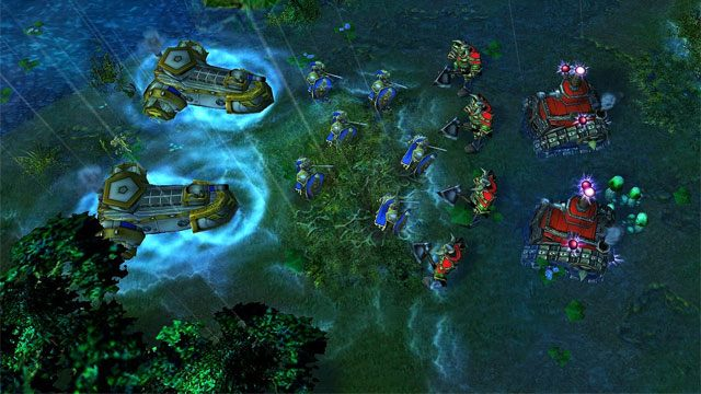 Warcraft III: The Frozen Throne GAME MOD Beyond the Throne: Tides of on