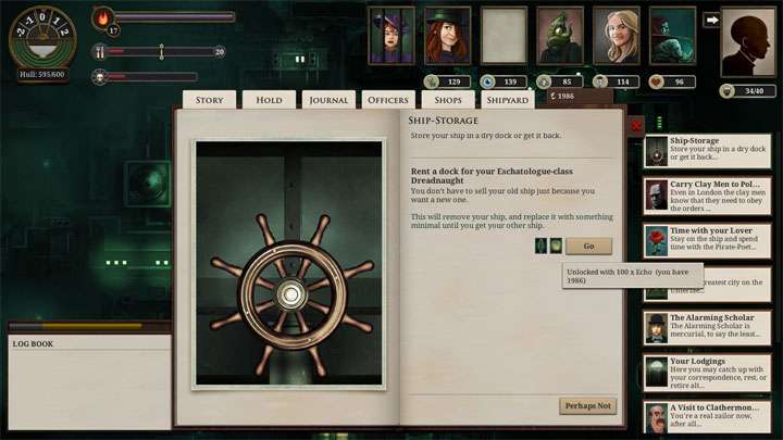 Sunless Sea mod Tales of the Grave-Garden v.1.01