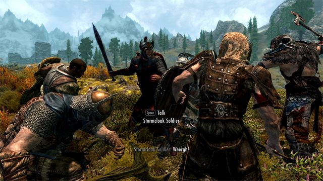 The Elder Scrolls V: Skyrim Special Edition GAME MOD Warzones Civil