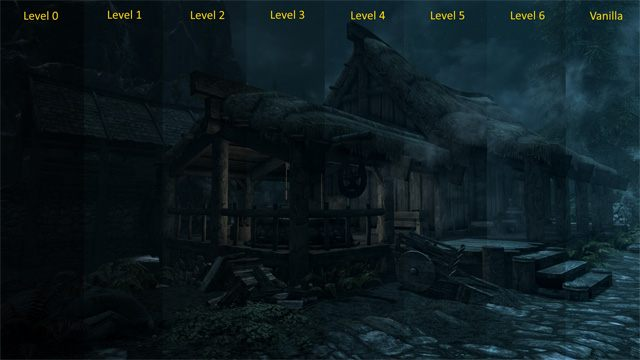 The Elder Scrolls V: Skyrim Special Edition GAME MOD Darker Nights v