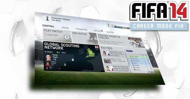 FIFA 14 GAME MOD Career Mode Fix v 12012014 - download