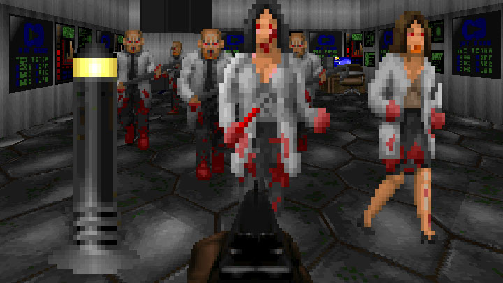 Doom II: Hell on Earth mod Hellbase v.5