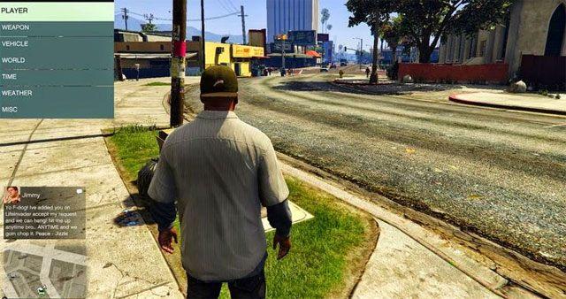 Grand Theft Auto V GAME MOD LUA Plugin for Script Hook v