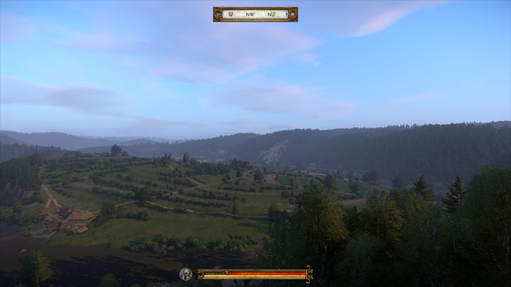 Kingdom Come: Deliverance mod No Reticle v.1.1
