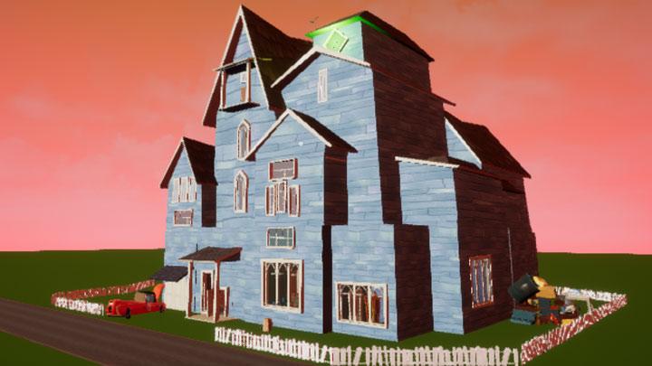 Hello Neighbor GAME MOD Hello, Neighbor! Glowing House (Pre