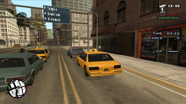 Grand Theft Auto: San Andreas GAME MOD Widescreen HOR+