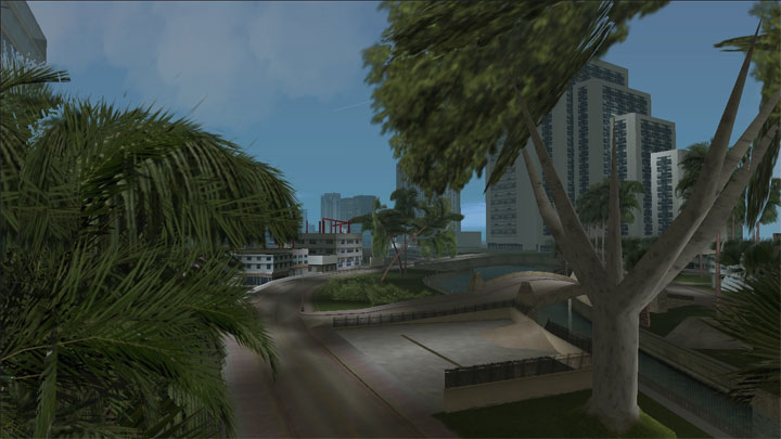 Grand Theft Auto: Vice City GAME MOD VADM: Vegetation Addon Mod v