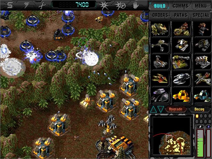 Dark Reign: The Future of War GAME MOD Dark Reign