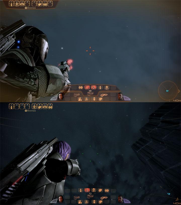Mass Effect 2 Game Mod Transparent Hud Elements V 3
