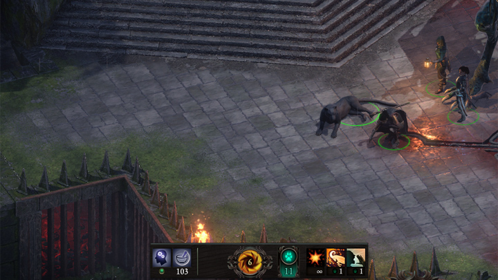 Pillars of Eternity II: Deadfire mod Panther Animal Companion v.0.1