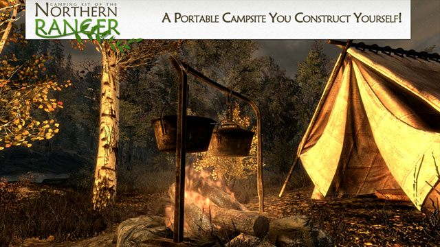 The Elder Scrolls V: Skyrim mod Camping Kit of the Northern Ranger v.2.2