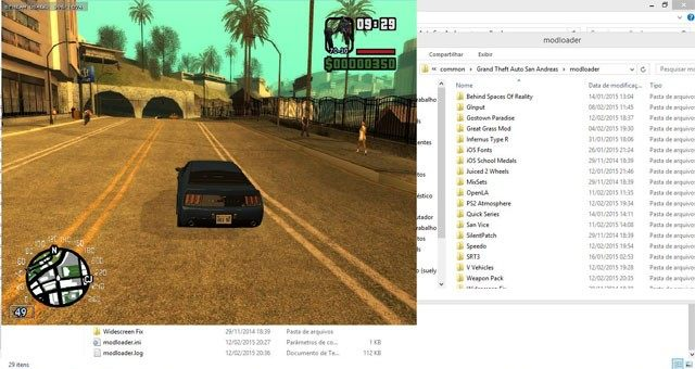 Grand Theft Auto: San Andreas mod Mod Loader