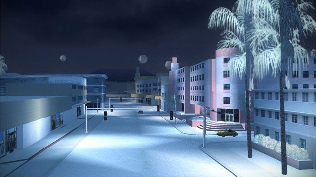 Grand Theft Auto: Vice City GAME MOD Winter Mod v 3 0 (31122017