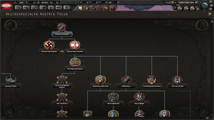 Hearts of Iron IV GAME MOD Focus Tree++ v 2 2 - download