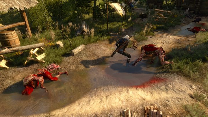 The Witcher 3: Wild Hunt GAME MOD Skill based dismembering v