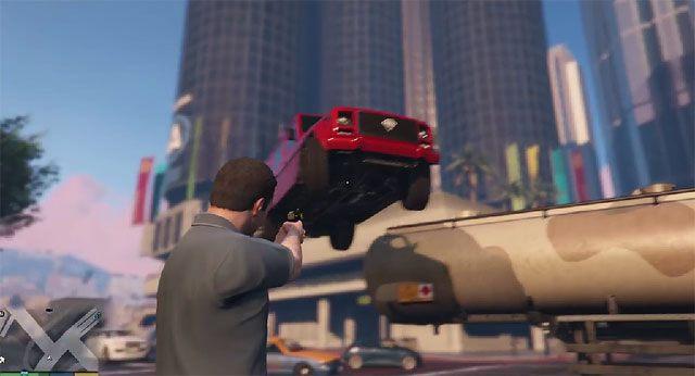 Grand Theft Auto V GAME MOD Gravity Gun v 1 5 - download