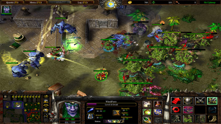 Warcraft III: The Frozen Throne GAME MOD Spellcraft