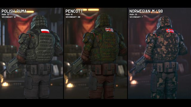 XCOM 2 GAME MOD Military Camouflage Patterns v 8 - download